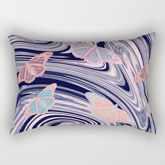 MARBELLOUS BUTTERFLIES Rectangular Pillow