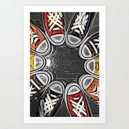 Chuck Yeah!  Art Print