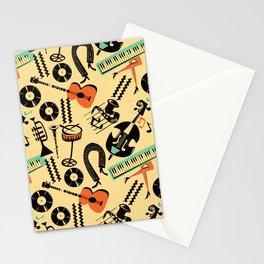 Jazz Rhythm (positive) Stationery Cards