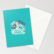 Worth melting for Stationery Cards