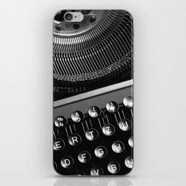 Typewriter NO.2 iPhone Skin