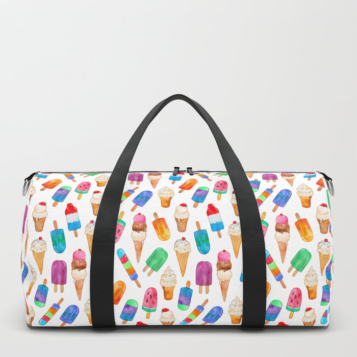 Summer Pops and Ice Cream Dreams Duffle Bag