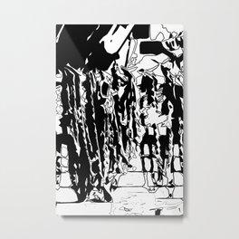 Inkling Metal Print