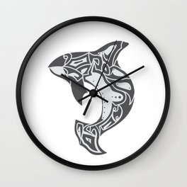 Northwest Orca - Puget Legend Wall Clock