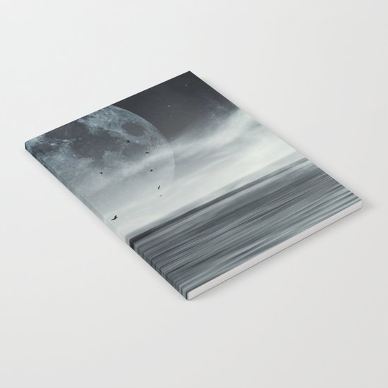 oceans of tranquility Notebook