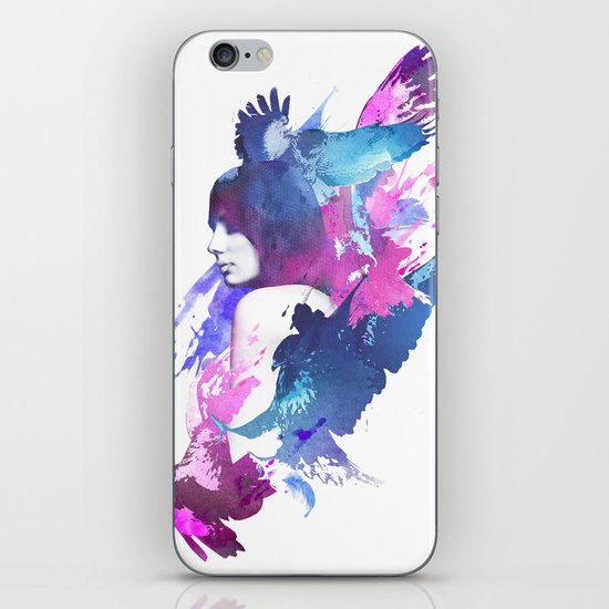 Bloody Fight iPhone Skin