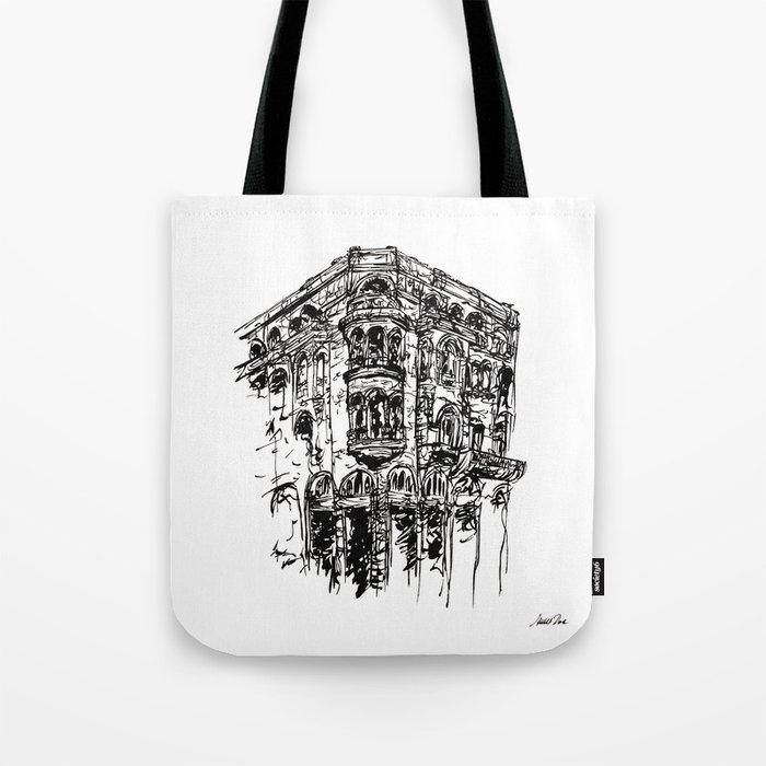 Urban Inkscape 1 Thessaloniki Tote Bag