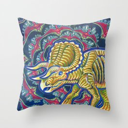 As Awesome As Three Unicorns Throw Pillow