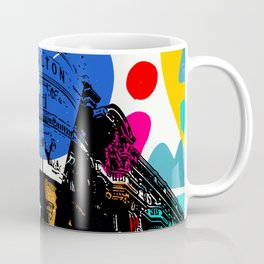 Cannes French Riviera Croisette Carlton Art Coffee Mug