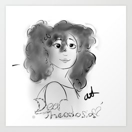 Dear Thedoisia, Art Print