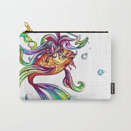 Rainbow Koi Carry-All Pouch