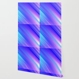 Abstract watercolor colorful lines painting Wallpaper