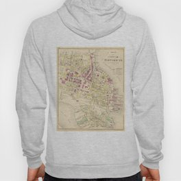 Vintage Map of Portsmouth NH (1892) Hoody