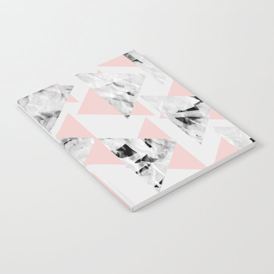 Pink Triangles Notebook