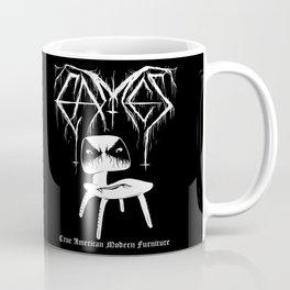 Modern Black Metal Coffee Mug