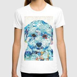 Small Dog Art - Soft Love - Sharon Cummings T-shirt