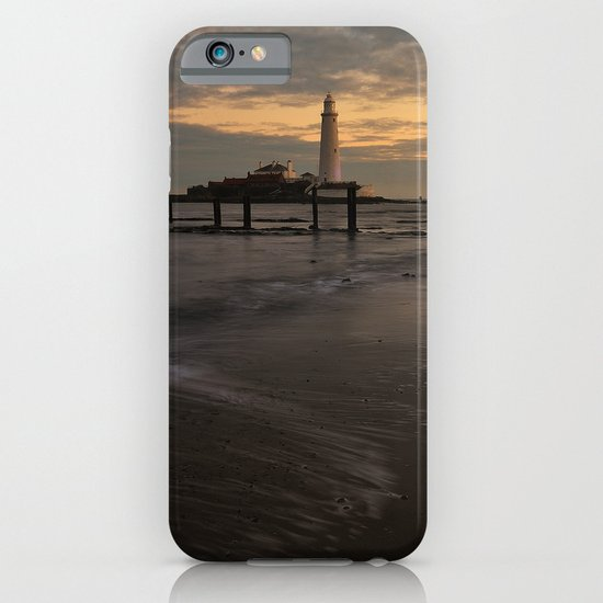 St Marys Lighthouse iPhone & iPod Case