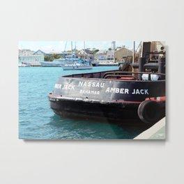Sailing in Nassau  Metal Print