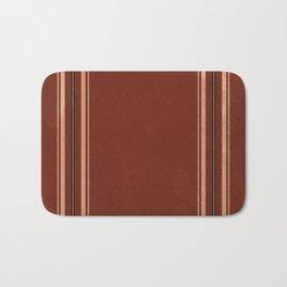 Brown Poncho Pattern Bath Mat