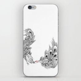 Peacock III iPhone Skin