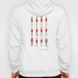 Liverpool - All-time squad Hoody
