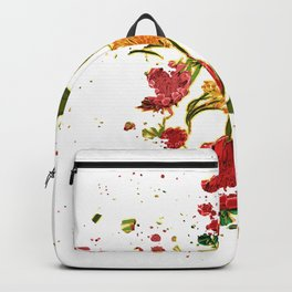 Beautiful Australian Native Floral Graphic Backpack