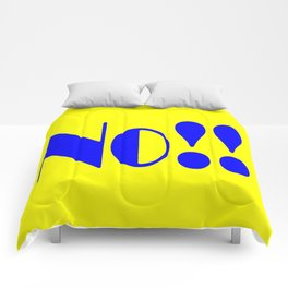 No!! Comforters