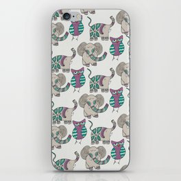 Whimsical Animals iPhone Skin