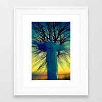 jesus Framed Art Prints featuring jesus by  Agostino Lo Coco