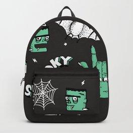 Frankenstein Spooky Boye Backpack