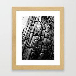 Charred Framed Art Print