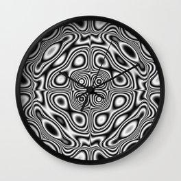 Abstract kaleidoscopic pattern Wall Clock