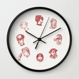 Cry O' Clock Wall Clock