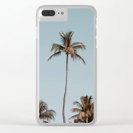 palm trees xvi Clear iPhone Case
