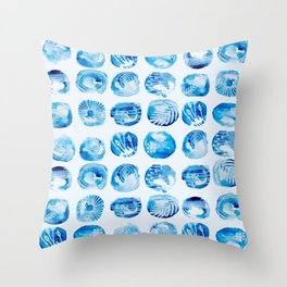 Raindrops falling on my head Throw Pillow
