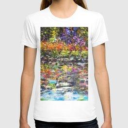 Hidden Peace by Sher Nasser Artist T-shirt