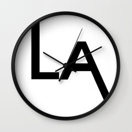 los angeles Wall Clock