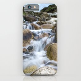 Stream Into Porth Nanven iPhone Case