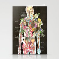 skeleton Stationery Cards featuring Skeleton by Ben Giles