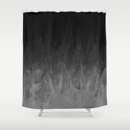 Everything Fades to Black Shower Curtain