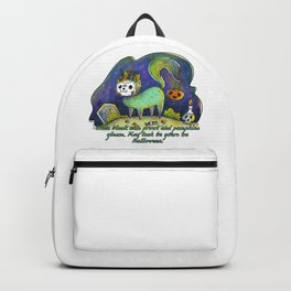 MAY LUCK BE YOURS ON HALLOWEEN Backpack