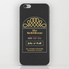 The Gold Room - The Shining - Overlook Hotel iPhone Skin