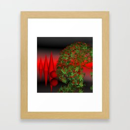 where the landscape is different Framed Art Print