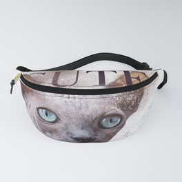 Sphynx Cat Cuteness Overload Fanny Pack