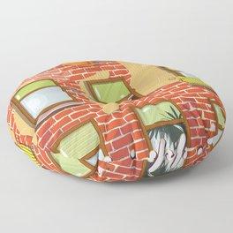 Neighbours Floor Pillow