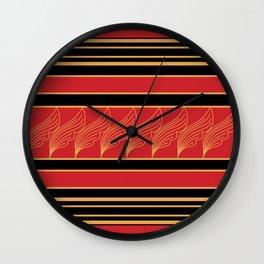 Lielaa pattern 1 Wall Clock