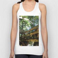 Tree house @ Aguadilla 4 Unisex Tank Top