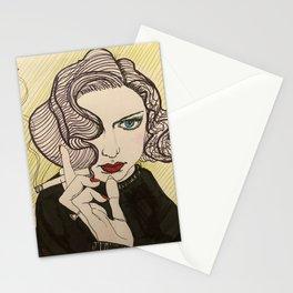 smoky dame Stationery Cards
