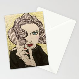 smoky dame Stationery Cards