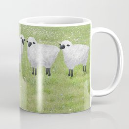 sheep and queen anne's lace Coffee Mug